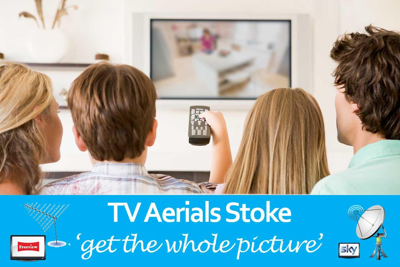tv aerials stoke